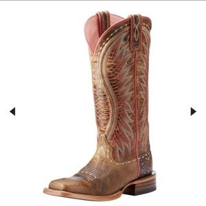 Ariat Women's Vaquera Western Boot (Dusted Wheat)